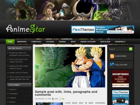 AnimeStar Free WordPress Theme | WordPress Free Themes
