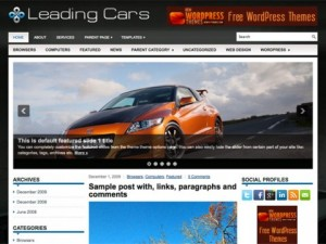 LeadingCars-Free-WordPress-Theme