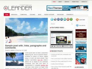 Leander-Free-WordPress-Theme