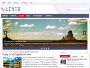 Lenio-Free-WordPress-Theme