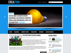 creation_wordpress_themes