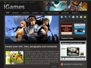 iGames-Free-WordPress-Theme