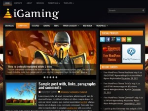 iGaming-Free-WordPress-Theme