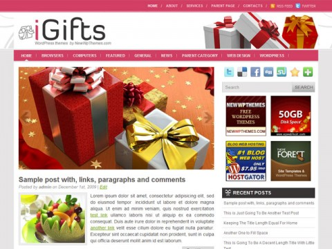 iGifts-Free-WordPress-Theme
