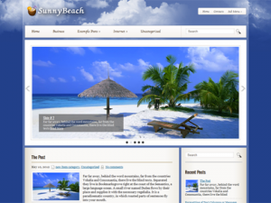 sunnybeach_wordpress_themes